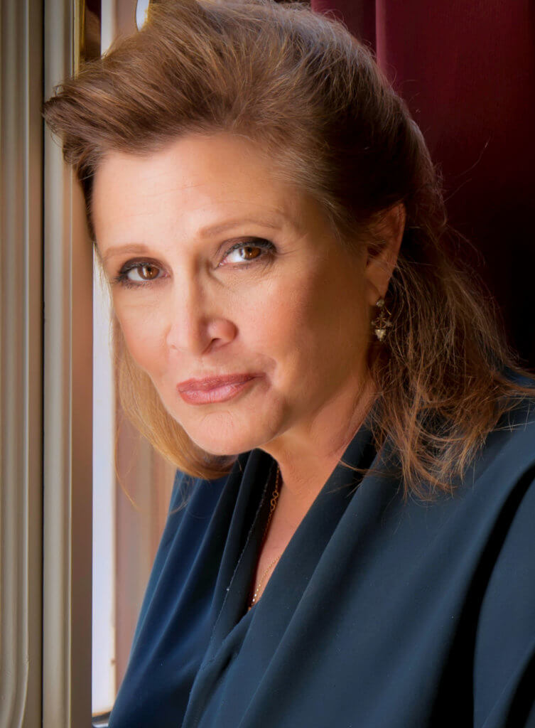Carrie Fisher 2013 cropped retouched